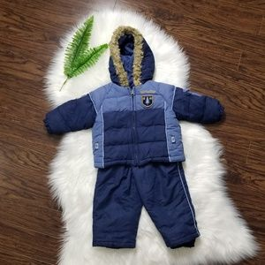 Cherokee | Toddler Winter Blue Jacket & Sn…